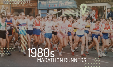 1980s Elite Marathon Training