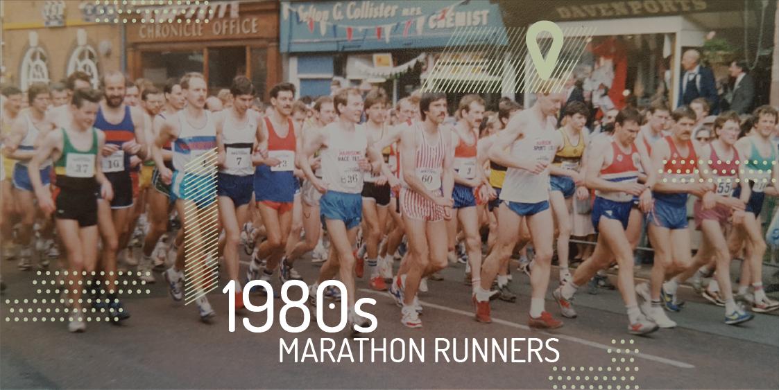 1980s Elite Marathon Training
