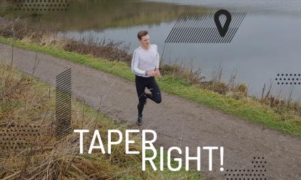 Taper right!