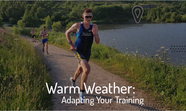 Adapting your training to a sudden increase in temperature