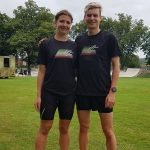 Danny and Amy are High Performance Runners at the Cheadle 4 Road Race!