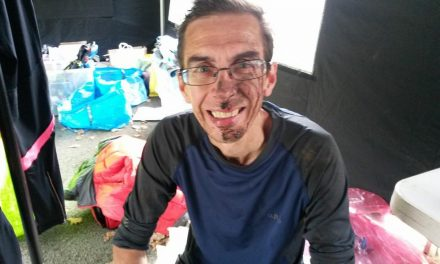 John Danahay: Training to win a trail marathon race aged 52