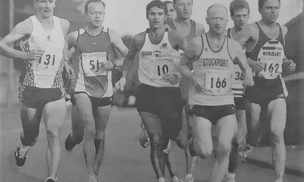 Robert Deakin: Training for a win at the 2000 Manchester Marathon